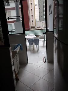 A balcony or terrace at Balneário Camboriú 3200