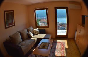 Гостиная зона в Villa Ohrid
