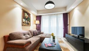 Lounge oder Bar in der Unterkunft Sherwood Residence