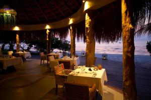 A restaurant or other place to eat at Azura Benguerra Island, Mozambique
