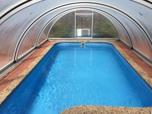 The swimming pool at or near Vila Frymburk 269