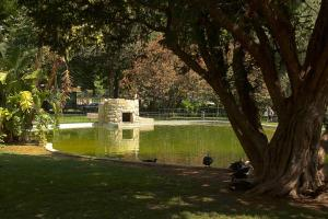 A garden outside Lure of Lisbon