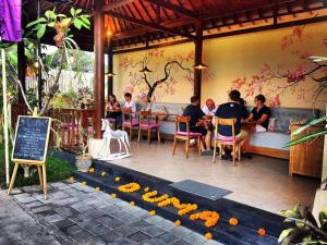 A patio or other outdoor area at The Amerta Private Villa