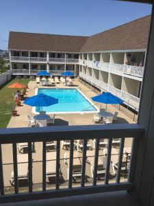 A balcony or terrace at Apartment in Royal Atlantic Beach Resort