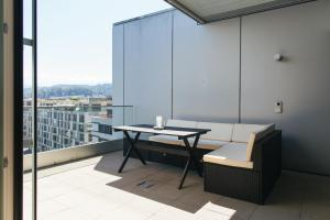A patio or other outdoor area at Penthouse Apartments Lakeside