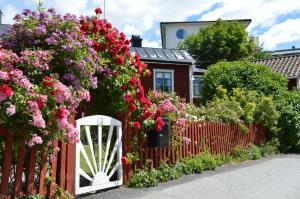 A garden outside Repslagarens B&B