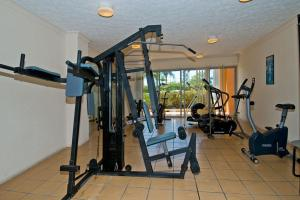 The fitness center and/or fitness facilities at Rays Resort