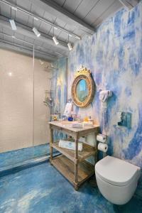 Ванная комната в Lindos Shore Boutique Villa