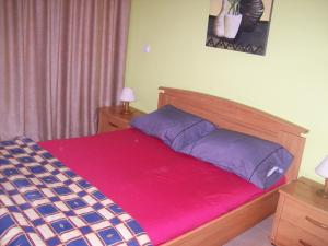 A bed or beds in a room at Apartamento Turistico Arminda Rodrigues