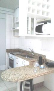 A kitchen or kitchenette at Flats Studio 45 Bueno
