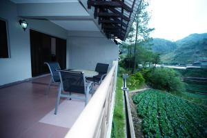 A balcony or terrace at Natasya Resort