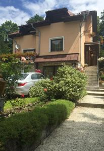 A garden outside Noclegi pod kasztanem