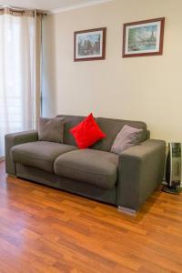Zona de estar de San Ignacio Suite Apartments