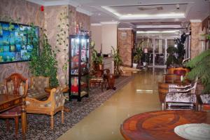 Salon ou bar de l'établissement Delmon Hotel Apartments