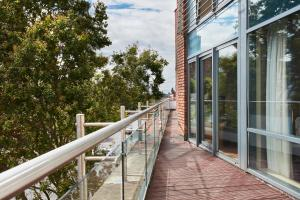 A balcony or terrace at Cordia Serviced Apartments