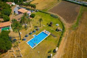 A bird's-eye view of Puerto Pollensa Villas and Apartments
