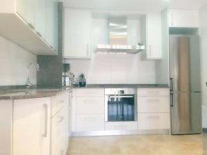 Ett kök eller pentry på Cal Farre
