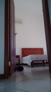 A seating area at Apartamento de 3 quartos a 200m da praia