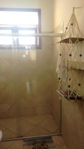 A bathroom at Apartamento de 3 quartos a 200m da praia