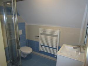 Koupelna v ubytování Villa Joanna