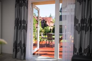 A porch or other outdoor area at Apartament Zacisze Tatr