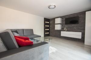 The lobby or reception area at Apartament Zacisze Tatr