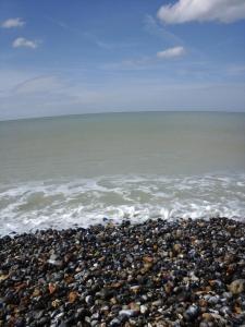 Pantai di atau di dekat rumah liburan