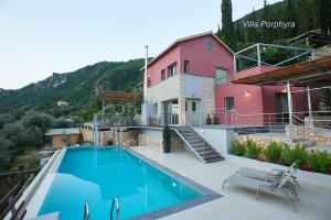 The swimming pool at or close to Arenaria L. Villas Complex