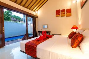 A room at Little Coco Gili Trawangan Villas