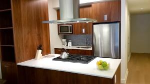 A kitchen or kitchenette at Chelsea Amazing Apartment on 30th Street