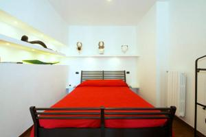 A bed or beds in a room at Casa Tridente