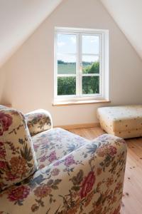 Ein Zimmer in der Unterkunft Ferienhaus Kastanie