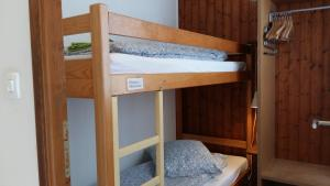 A bunk bed or bunk beds in a room at Les Séracs