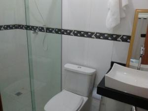 A bathroom at Apartamento Telégrafo