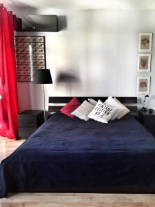 Un ou plusieurs lits dans un hébergement de l'établissement Apartment Na Hrebenkach