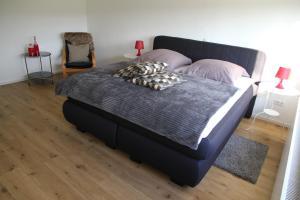 Ein Bett oder Betten in einem Zimmer der Unterkunft Forsthaus in Katzwinkel