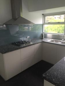 A kitchen or kitchenette at Sydney East Luxury Apartment