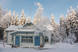 Villa Lokki during the winter