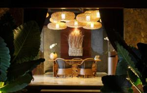 A seating area at The One Boutique Villa