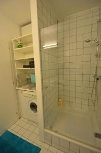 A bathroom at Appartement Döbling