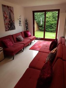 A seating area at Frood Street Bungalow