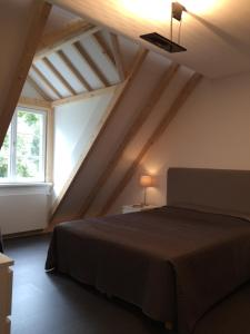 A bed or beds in a room at Apartment Adlerhorst
