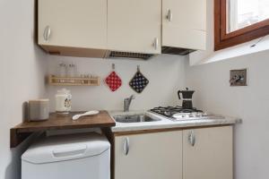 Een keuken of kitchenette bij Casa de Peruzzi