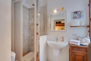 Een badkamer bij Casa de Peruzzi