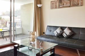 Zona de estar de Norus Apartments Providencia