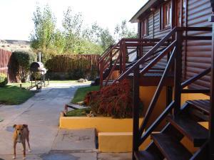 A porch or other outdoor area at Cabañas Marias del Sur
