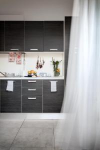 A bathroom at Cala Palme