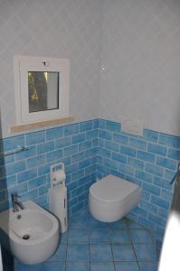 A bathroom at Tenuta le marze