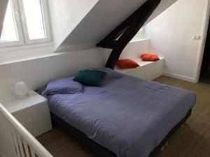 Voodi või voodid majutusasutuse Les Petits Carreaux toas