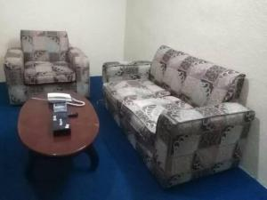 The lounge or bar area at Helm Jeddah Hotel Apartments